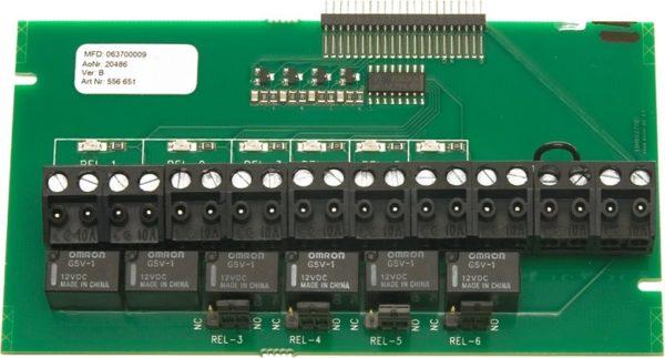 Assa Abloy DAC-400RC64 releeplaat Palmett Lukud