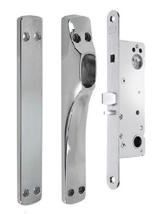 Assa Abloy Connect 230-35 lukukomplekt kitsasprofiil uksele Palmett Lukud