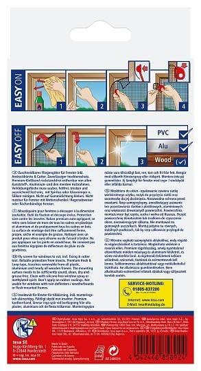 2fc2112ced4 tesa® putukavõrk Comfort aknale (prantsuse aknale ehk rõdule ...