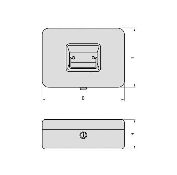Basi rahakarp GK 10 Palmett Lukud