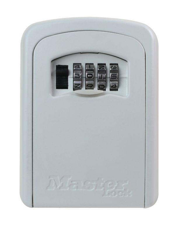 Master Lock 5401 võtmekapp valge Palmett Lukud