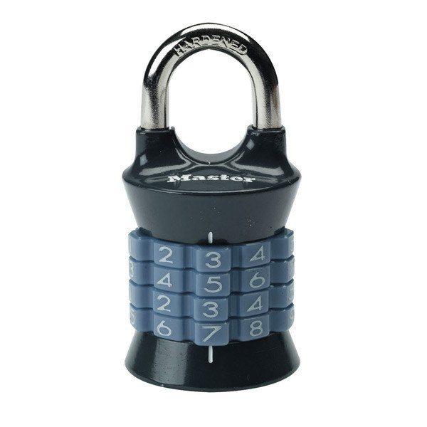 Master Lock 1535 tabalukk Palmett Lukud