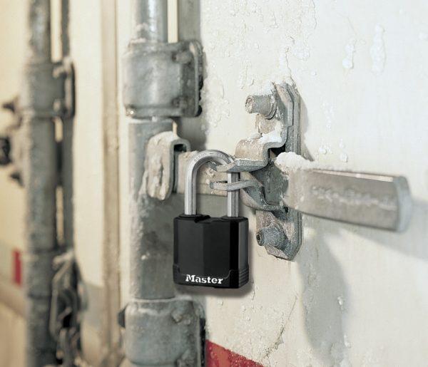 Master Lock M115 tabalukk Palmett Lukud