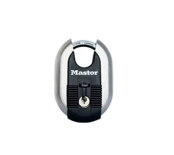 Master Lock M187 tabalukk Palmett Lukud