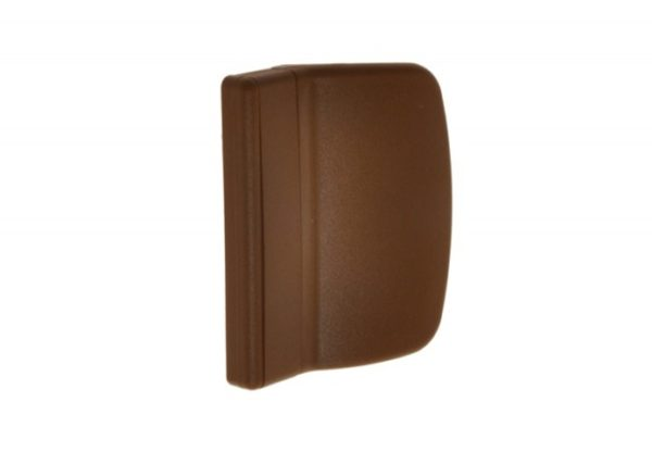 Verandaukse või rõduukse välimine plastikust käepide (tamm) - Palmett Lukud
