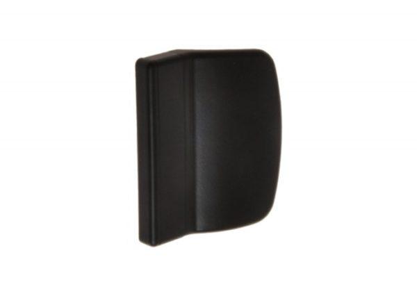 Verandaukse või rõduukse välimine plastikust käepide (must) - Palmett Lukud