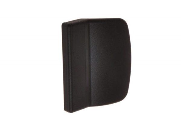 Verandaukse või rõduukse välimine plastikust käepide (pruun) - Palmett Lukud