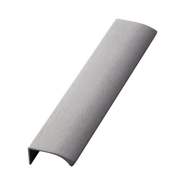 Beslag Design profiilkäepide 200 mm harjatud antratsiit Palmett Lukud