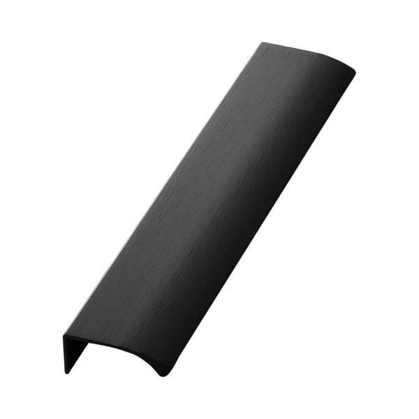 Beslag Design profiilkäepide 200 mm matt must Palmett Lukud