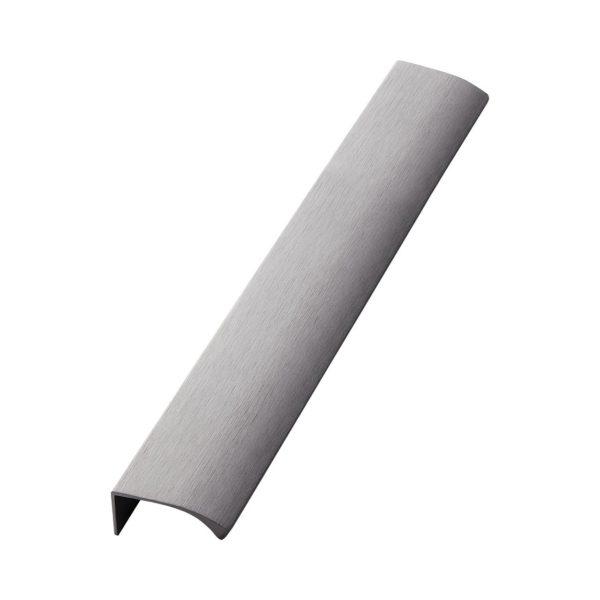 Beslag Design profiilkäepide 350 mm harjatud antratsiit Palmett Lukud