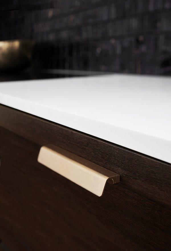 Beslag Design käepide Fringe messing Palmett Lukud