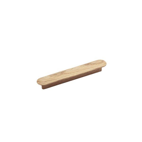 Beslag Design puidust käepide Tuba 128 mm hele Palmett Lukud