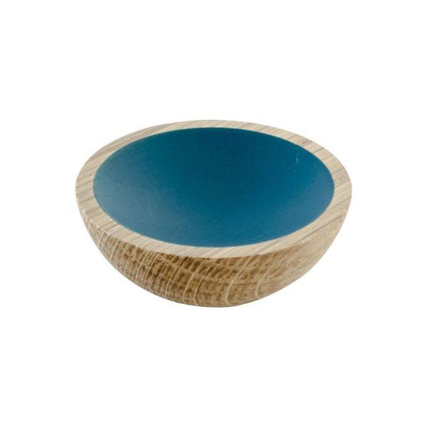 Beslag Design mööblinupp Wok 50 mm tamm/sinine Palmett Lukud