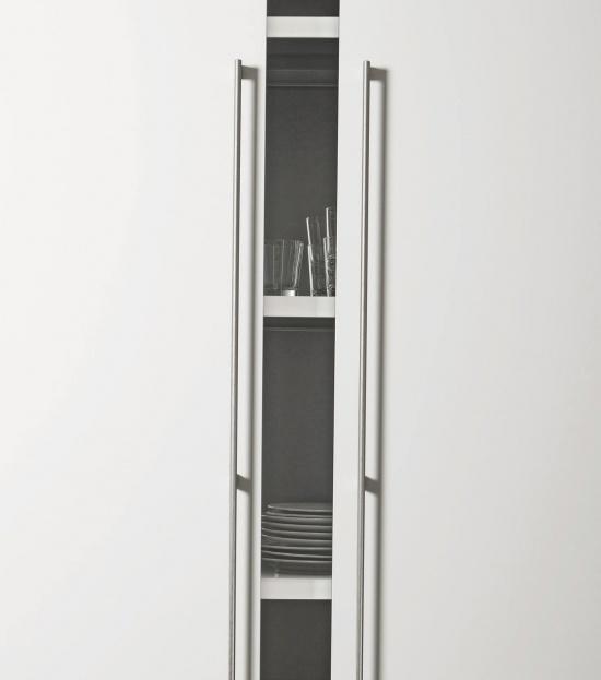 Beslag Design käepide Graf Mini 1178 mm roostevaba terase stiilis Palmett Lukud