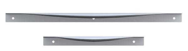 Beslag Design profiilkäepide Edge Bow Palmett Lukud
