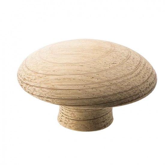 Beslag Design mööblinupp Mushroom 50 mm tamm Palmett Lukud