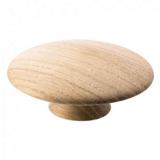 Beslag Design mööblinupp Mushroom 65 mm tamm Palmett Lukud