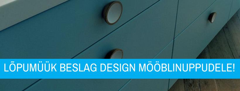 Lõpumüük Beslag Design mööblinuppudele - Palmett Lukud